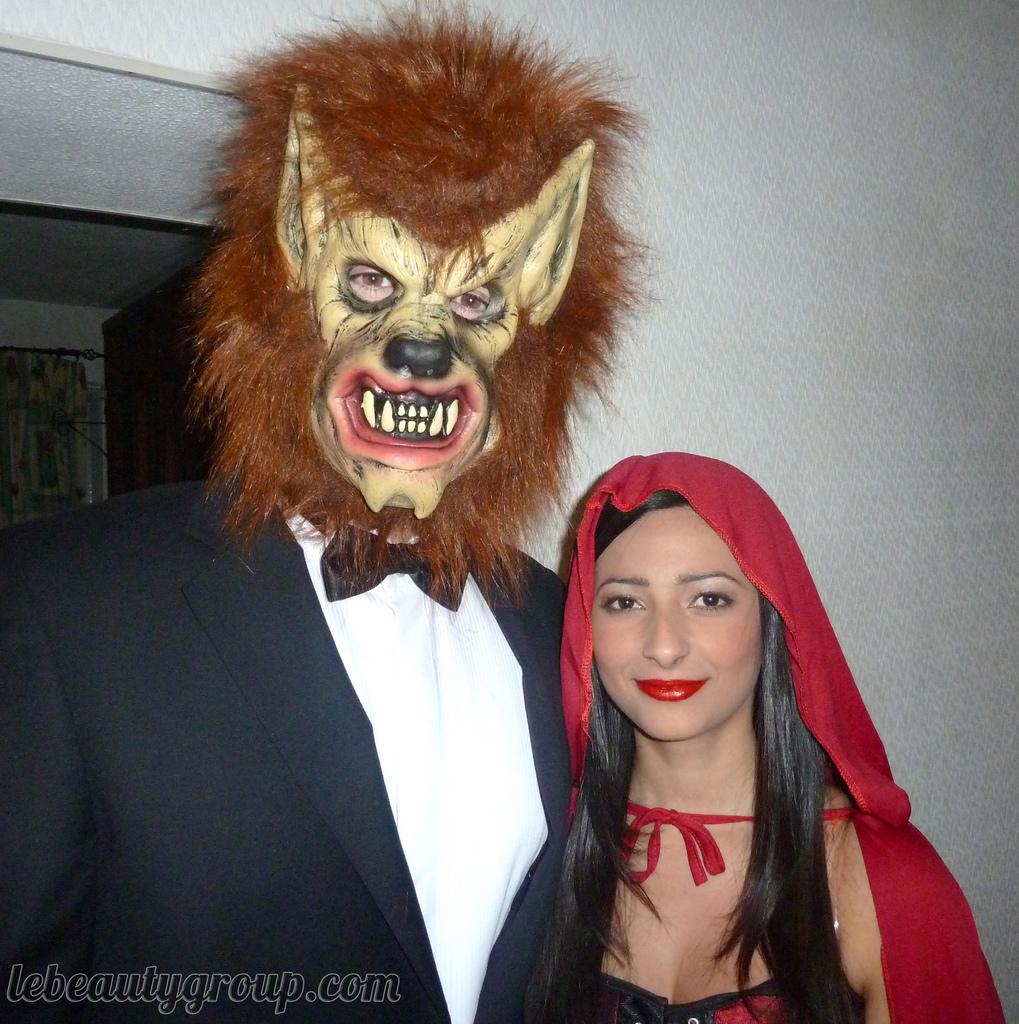 Halloween Costume: Little Red Riding Hood u2013 Makeup, Nails and Outfit
