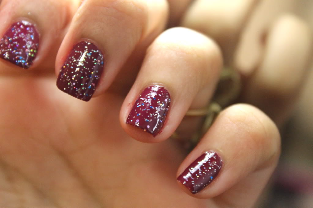Nails Of The Day (NOTD): Nails Inc Piccadilly Circus