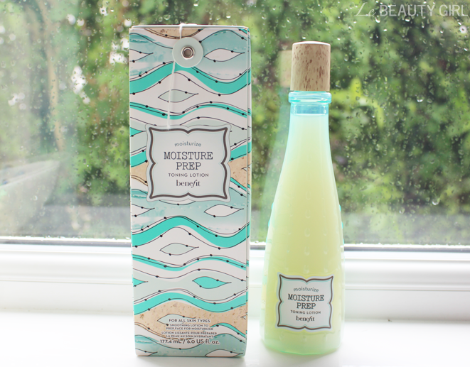 benefit moisture prep toning lotion