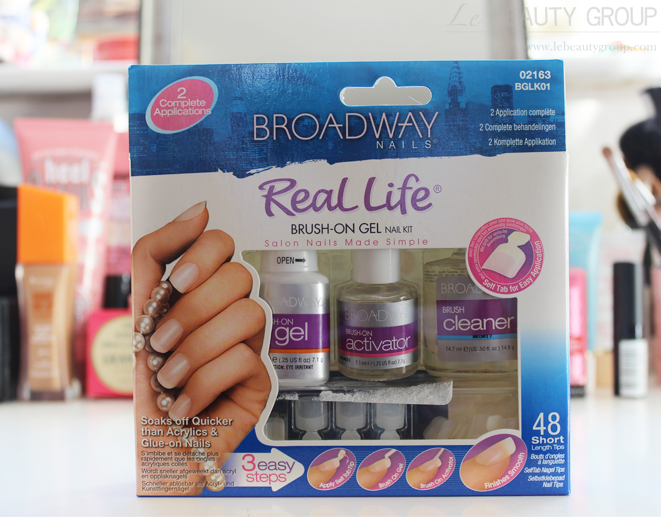 Broadway Nails Real Life Brush-On Gel Nail Kit (Review and NOTD)