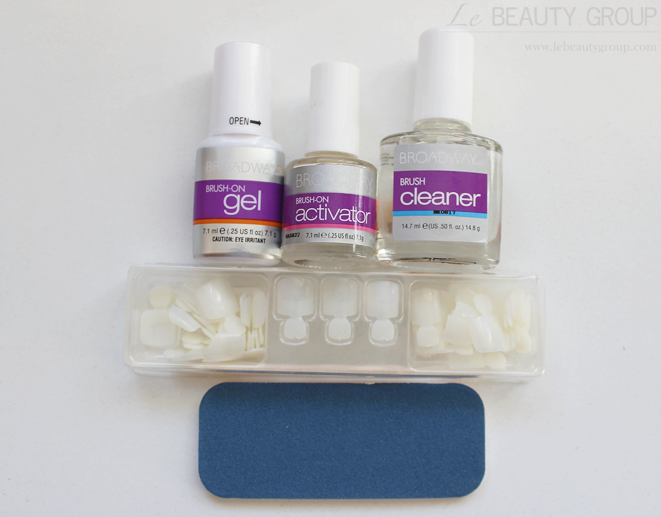 Broadway Nails Real Life Brush On Gel Nail Kit Review And Notd