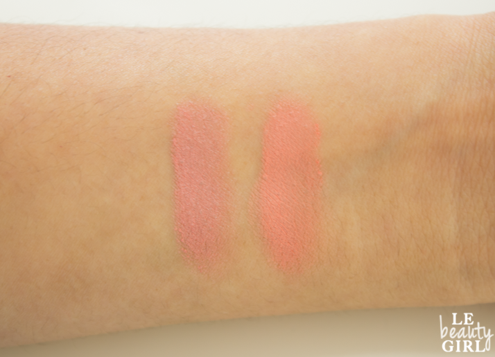 Bourjois Cream Blush Swatches