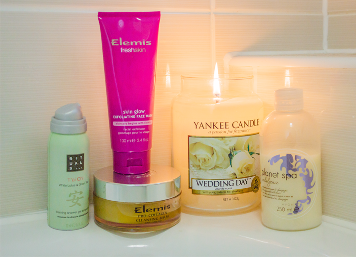 Bath time essentials for Bathroom essentials
