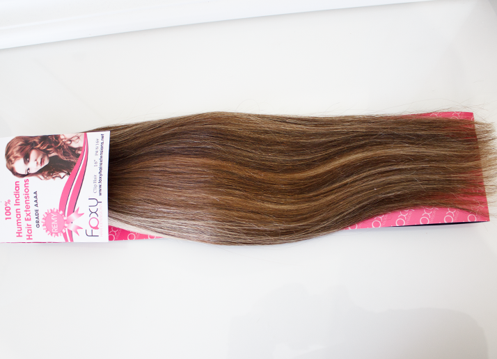 hair extensions clip on