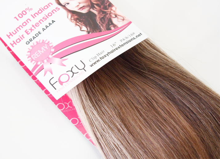 Foxy Clip In Highlighted Hair Extensions