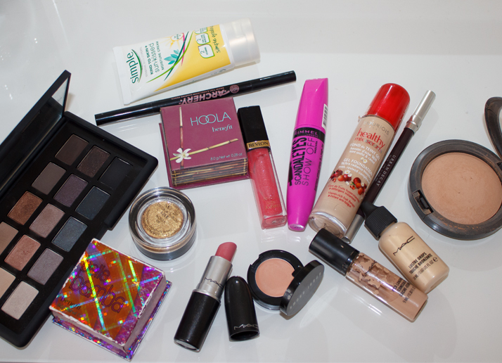 The Unloved Products Makeup Look