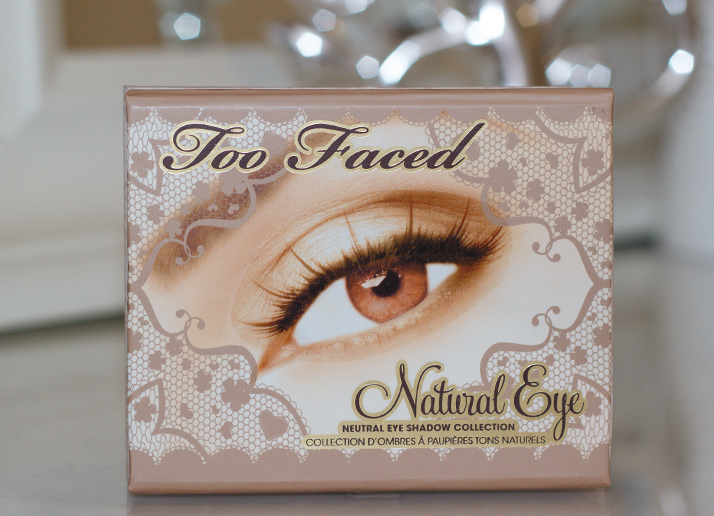 Too Faced Natural Eye Neutral Eyeshadow Collection