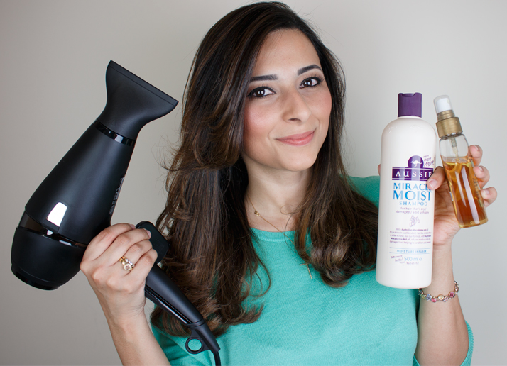 Haircare Routine Step By Step Demo