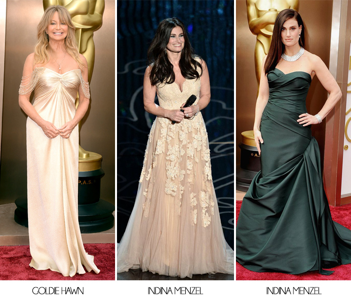 Oscars 2014 Goldie Hawn Indina Menzel
