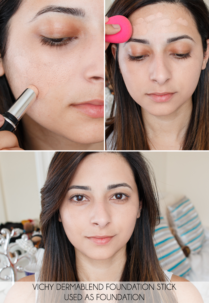 Vichy Dermablend Stick Foundation Review Le Beauty Girl
